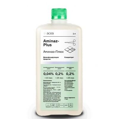 Средство для дезинфекции поверхностей и инструментов Acea Аминаз-Плюс (1 литр)