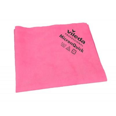 Салфетка МикронКвик из тонкого волокна (красная)