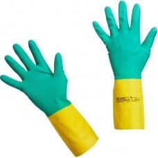 Латексные перчатки с неопреном VILEDA Усиленные