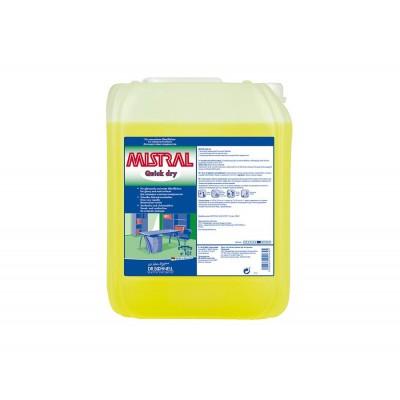 Средство для уборки любых поверхностей MISTRAL QUICK DRY (10 л)