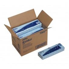 Протирочные салфетки WypAll X80 (7565), 1 коробка (10 упаковок по 25 салфеток)