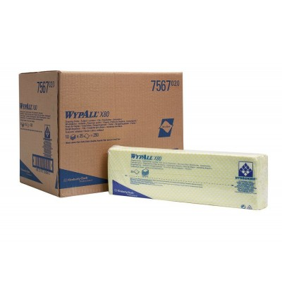 Протирочные салфетки WypAll X80 (7567)