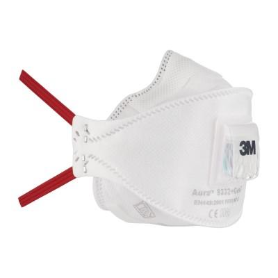 Противоаэрозольная фильтрующая маска 3M™ Aura™ 9332+ FFP3 с клапаном выдоха