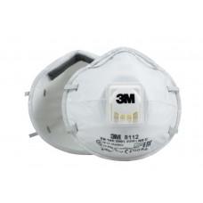 Противоаэрозольная фильтрующая полумаска 3M™ 8112 FFP1 с клапаном выдоха