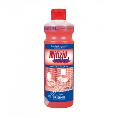 Средство для удаления минеральных и жировых загрязнений MILIZID KRAFTGEL (1 л)