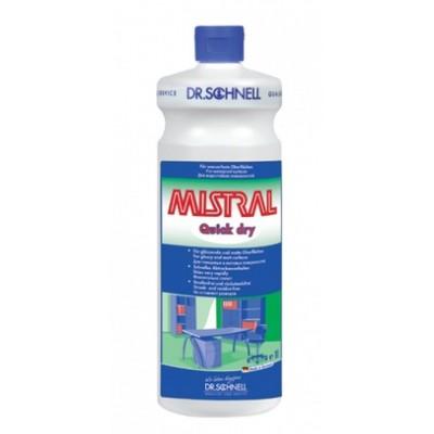 Средство для уборки любых поверхностей MISTRAL QUICK DRY (1 л)