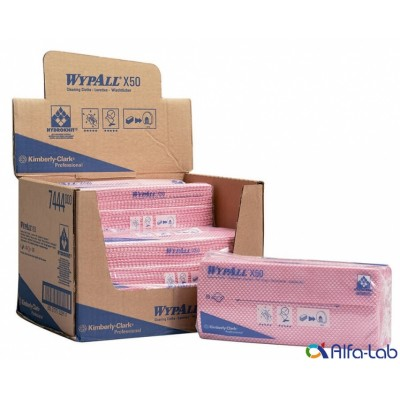 Протирочные салфетки WypAll X50 (7444)