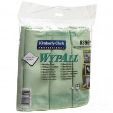 Протирочные салфетки из микрофибры WypAll (8396), 1 упаковка/ 6 шт