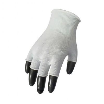 Перчатки нейлоновые с обрезанными пальцами