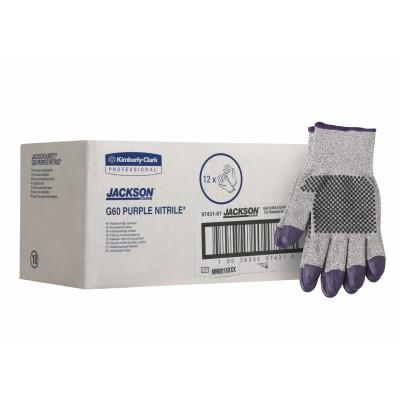 Перчатки JACKSON SAFETY* G60 Purple Nitrile стойкие к порезам (уровень 5)