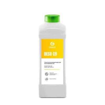 Готовое к применению дезинфицирующее средство на основе изопропилового спирта DESO C9 (1 литр)