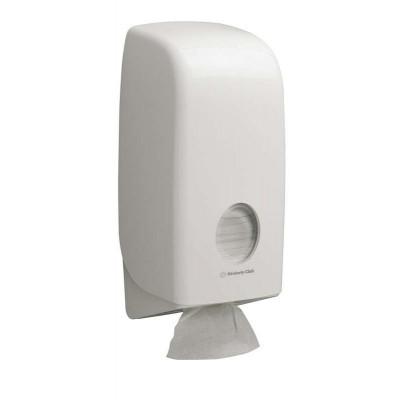 Диспенсер для туалетной бумаги впачках Aquarius