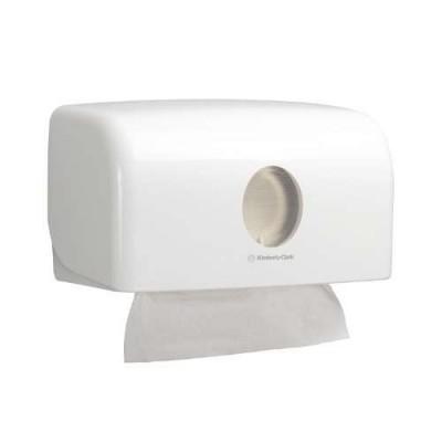 Диспенсер для бумажных полотенец в пачках Kimberly-Clark AQUARIUS* малый