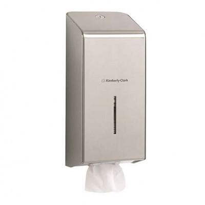 Диспенсер для туалетной бумаги в пачках, стальной