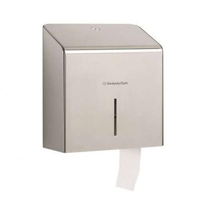 Диспенсер для туалетной бумаги в рулонах, стальной 2мм
