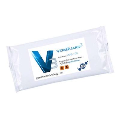 Стерильные влажные салфетки VeriGuard IPA в пачке