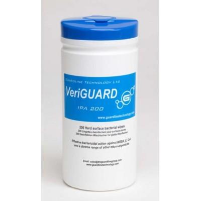Стерильные влажные салфетки VeriGuard IPA в тубе