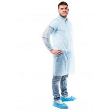Одноразовый халат на кнопках PURETECH С20