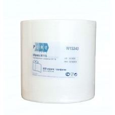 Протирочный материал в рулоне PURETECH W115 475 листов, белый