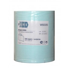 Протирочный материал в рулоне PURETECH W68 500 листов, голубой