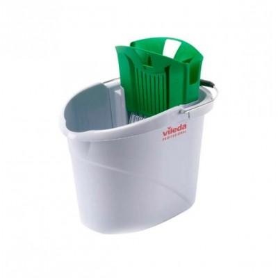 Ведро с отжимом УльтраСпид Мини 10 литров (зеленое)