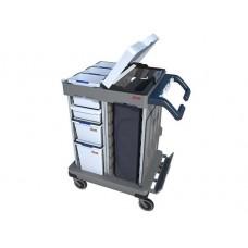 Тележка Ориго 2 для уборки бизнес-центров