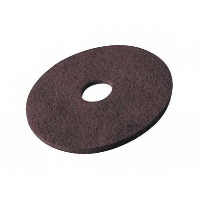 Пад для роторных машин Супер-круг, 43 см (коричневый)