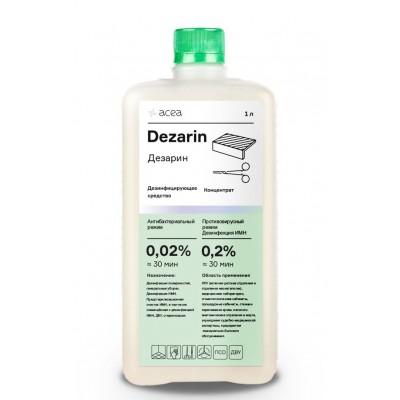 Средство для дезинфекции поверхностей и инструментов Acea Дезарин (1 литр)