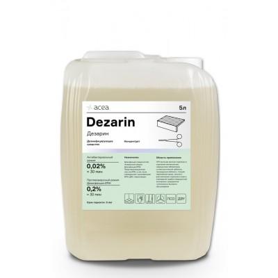 Средство для дезинфекции поверхностей и инструментов Acea Дезарин (5 литров)
